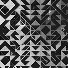 /M/ontezuma made me dance /453/ \\ #processing #generative #code #digitalart #algorithmicart #cg #abstract #bw