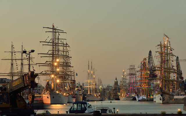 Tall Ships in the Night