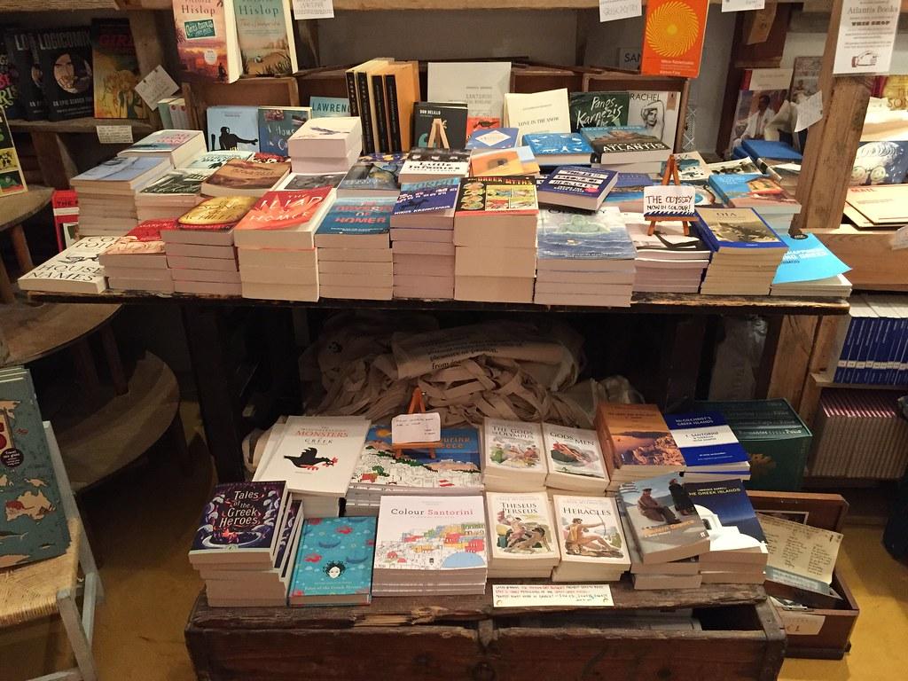 Librería Santorini