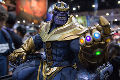 SDCC 2017 - Sideshow Collectible's Booth - Thanos Statue [2]