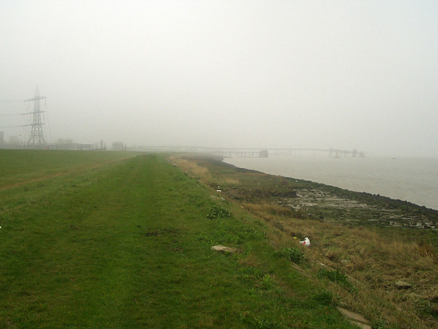 Marshes near Gravesend