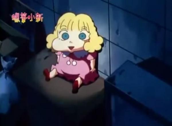 anime, shin chan, shinnosuke, urban legend, videos, 蜡笔小新, 蜡笔小新都市传说系列, 都市传说, 都市传说系列,被诅咒的娃娃