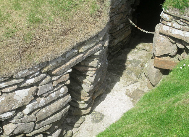 House Entrance, Skara Brae