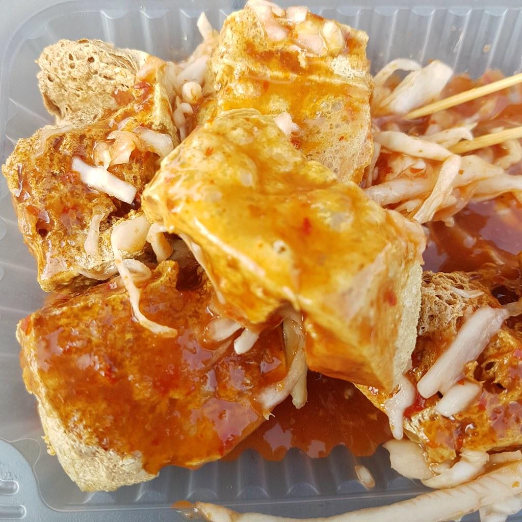Stinky Tofu $1/pcs @ OUG Night Market