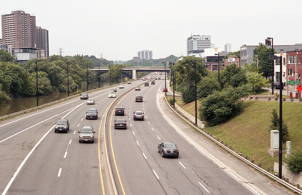 The DVP Looking North