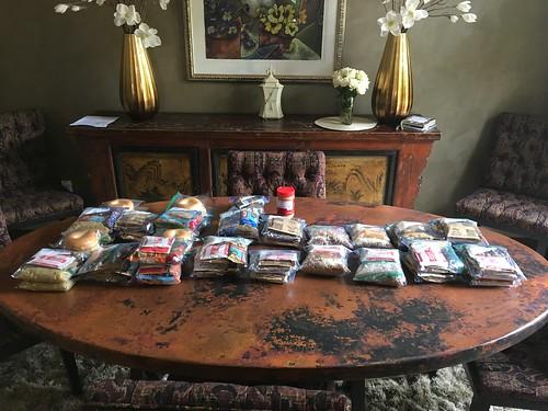Organized food