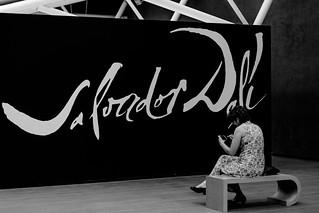 """""""Salvador Dalí"""", Instituto Tomie Ohtake, São Paulo, SP, Brasil."""