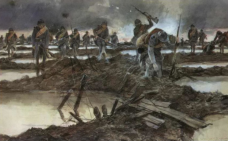 World War I by François Flameng