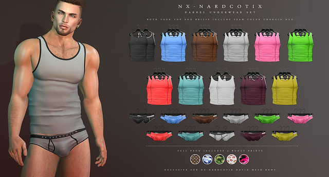 NX-Nardcotix Darrel Underwear Set