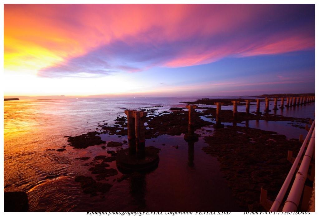 陽光、沙灘、與一輩子從沒見過的晚霞!澎湖之旅