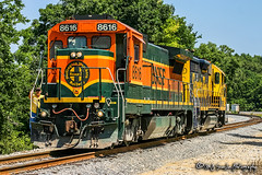 BNSF 8616 | GE B40-8 | UP Hulbert Industrial Lead