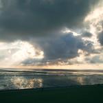 Sonne & Wolken am Nordsee Strand - 17. Juni 2007 - Schleswig-Holstein - Deutschland