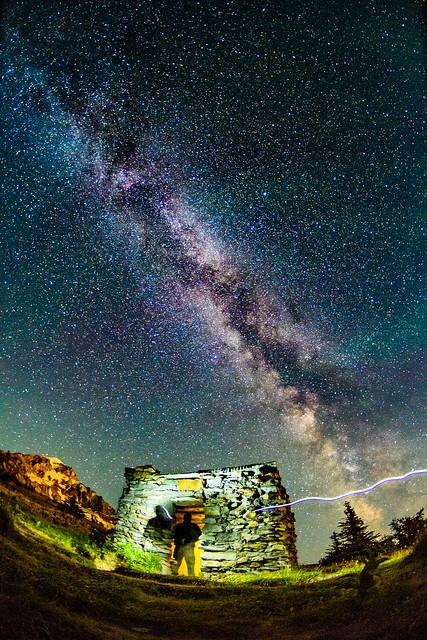 Milky Way over McNeil, Nikon D500, AF DX Fisheye-Nikkor 10.5mm f/2.8G ED