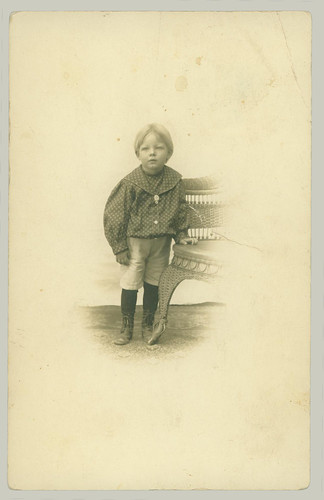 RPPC of small boy