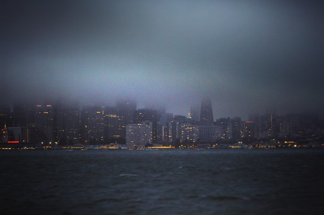 San Francisco Fog, Canon EOS REBEL SL1, Canon EF 75-300mm f/4-5.6