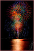 Kemah Fireworks Grand Finale by Timothy LaBranche