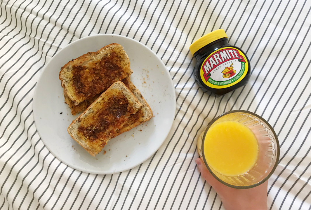 Marmite on toast - buying from companies with unethical parent companies