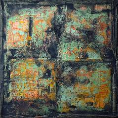 """""""Untitled (N° 56)"""", mixed media by Cezary Gapik"""