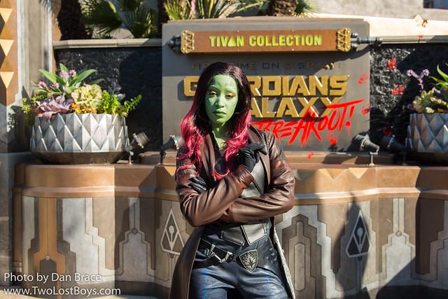 Meeting Gamora