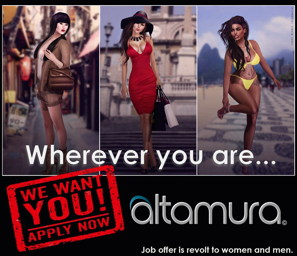 Altamura is Looking for Staff - SecondLifeHub.com