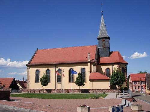 Eglise Sainte Sixte à Oberlauterbach