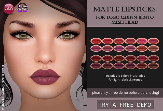 LOGO Quinn Matte Lipsticks
