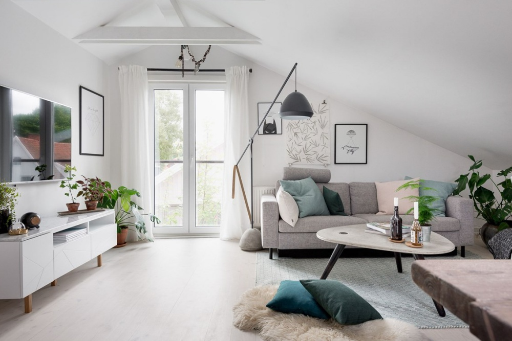 Scandinavian Attic Apartment