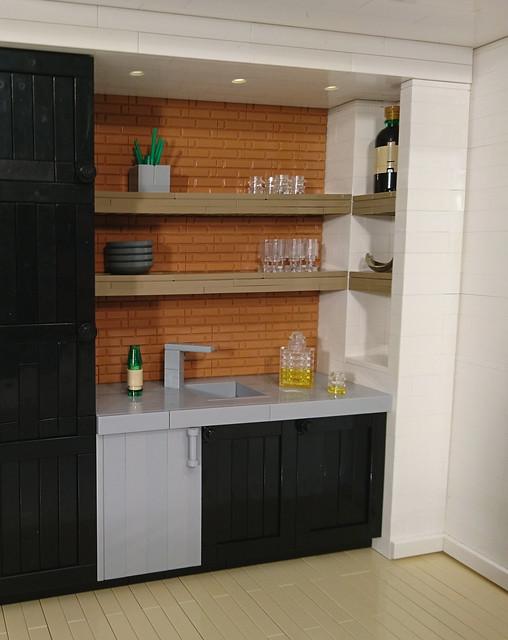 LEGO Man Cave Kitchen