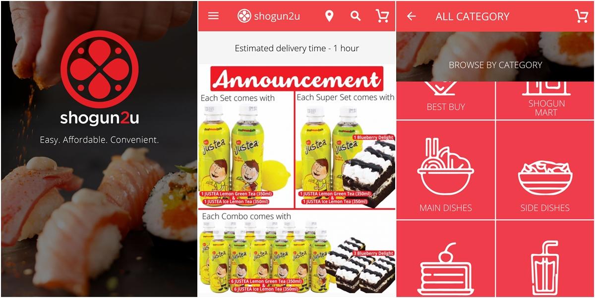 Shogun2u food ordering app