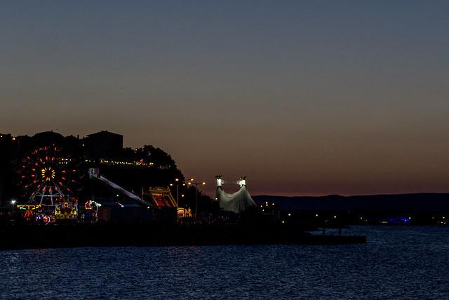 Nesebar by Night, Canon EOS 1200D, Tamron AF 70-300mm f/4-5.6 Di LD 1:2 Macro