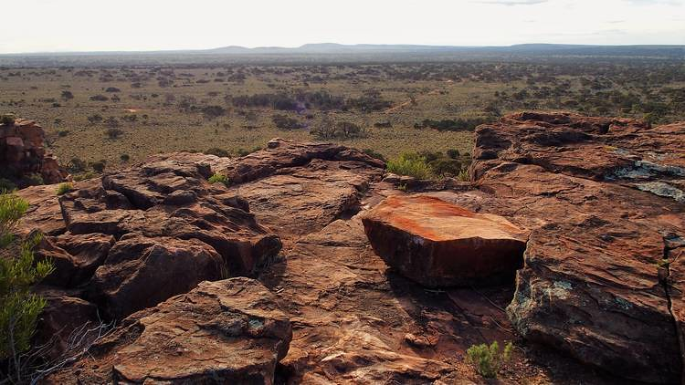 Rocks at Wild Dog Hill Summit, Whyalla Conservation Park, South Australia