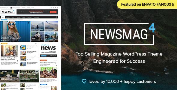 Newsmag v4.0 – News Magazine Newspaper