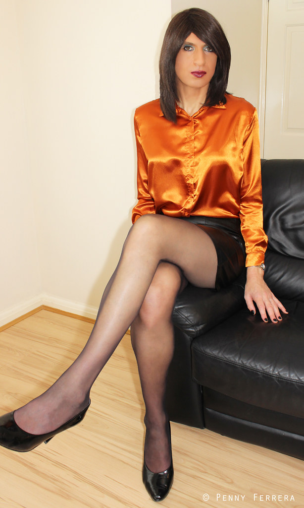 Gold Satin Blouse