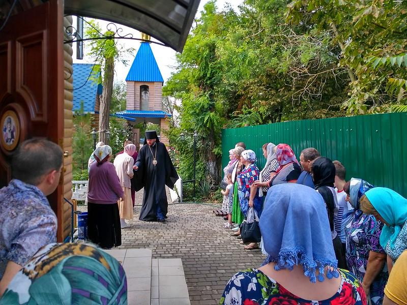 Єпископ Одеський і Чорноморський Тихон очолив божественну літургію 28 липня 2017 року в день Рівноапостольного князя Володимира