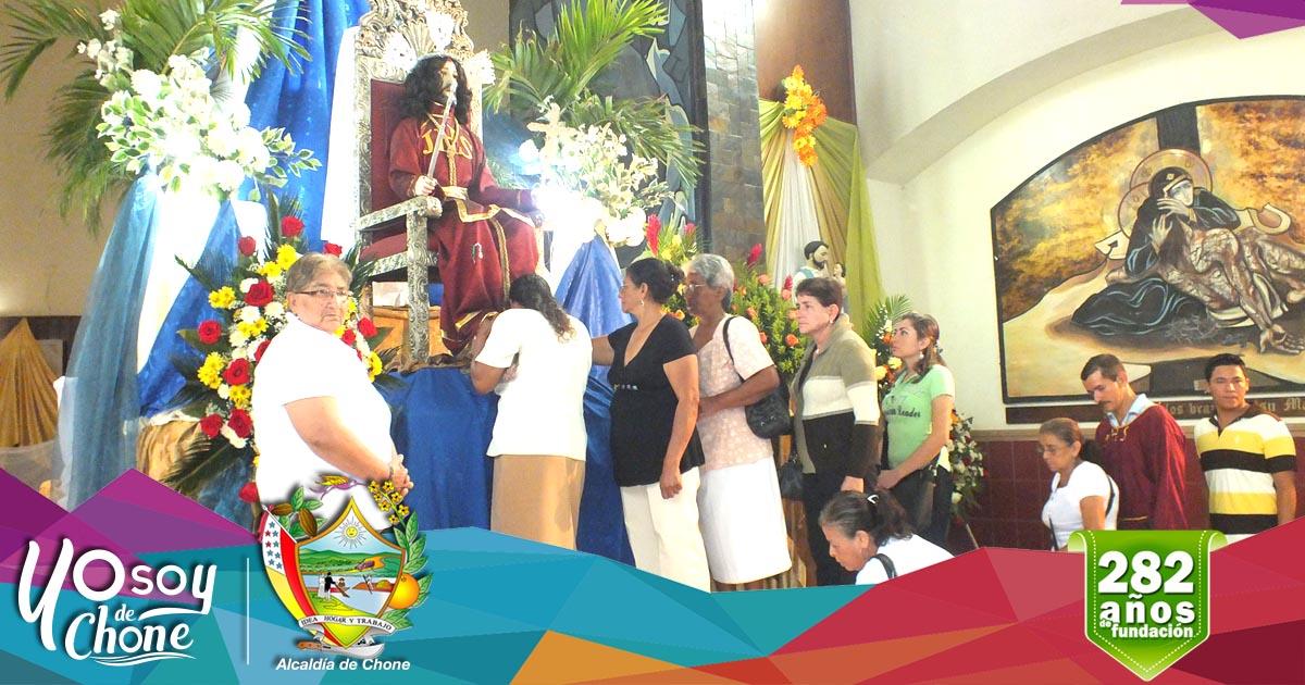 Parroquia San Cayetano desarrolla con normalidad la novena del Señor de la Buena Esperanza