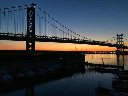 presunrise benfranklinbridge