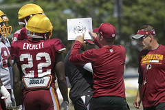 Washington Redskins Richmond Virginia Training Camp - NFL Football - secret play to win the Superbowl