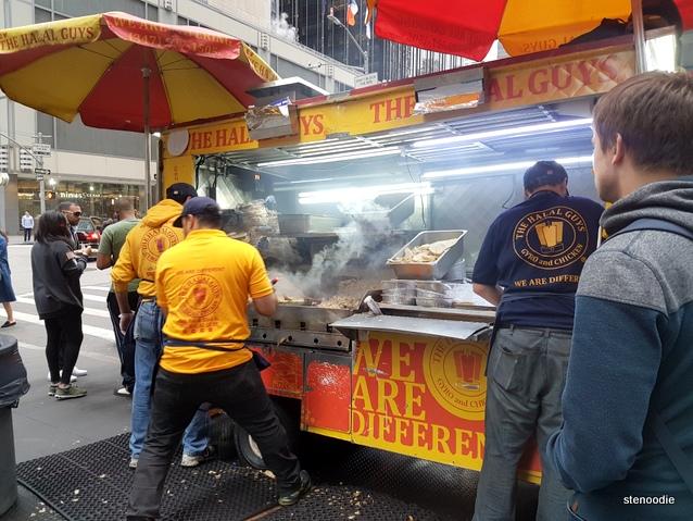 Halal Guys in New York