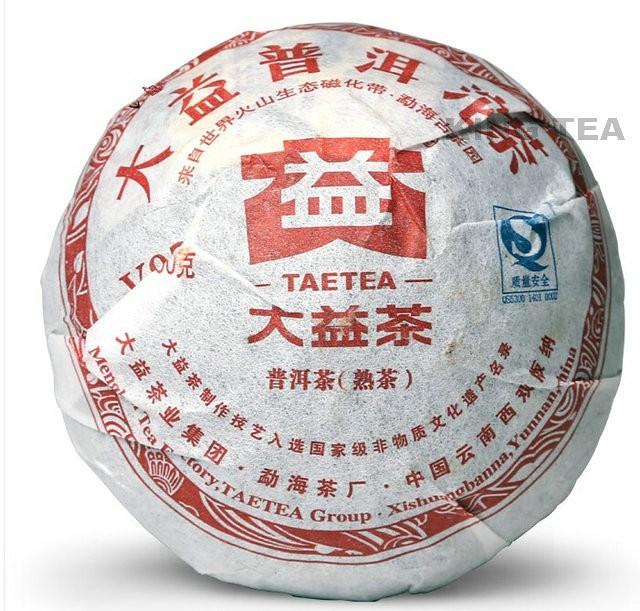 Free Shipping 2011 TAE TEA DaYi V93 Tuo Bowl 100g China YunNan MengHai Chinese Puer Puerh Ripe Cooked Tea Shou Cha