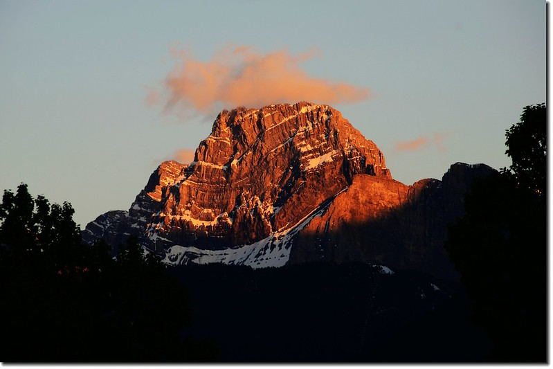 Canmore南眺Mount Lougheed (3105m) (4)