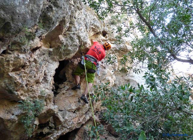 Roger Ferrer - Ventre de Mare, 6a -02- El Castellot, Sector De Sota (15-07-2017)