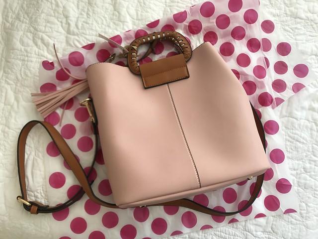 Muguette Renee pink bag