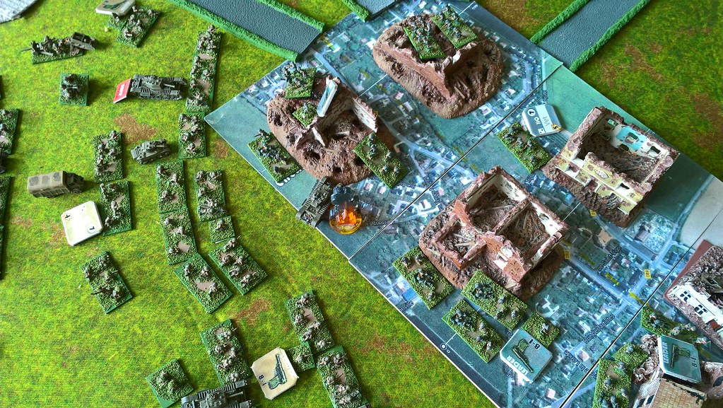 Normandy EPSOM battle refight