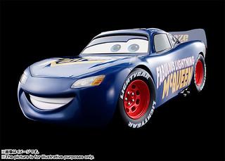 超合金 《汽車總動員3:閃電再起》閃電麥坤「傳奇藍色版本」!Cars Fabulous LIGHTNING McQUEEN