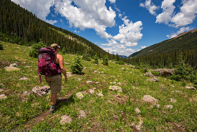 Uncompahgre Wilderness Backpacking