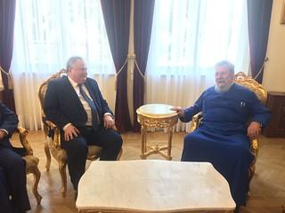 Επίσκεψη Υπουργού Εξωτερικών, Ν. Κοτζιά, στην Κύπρο (Λευκωσία, 18.07.2017)