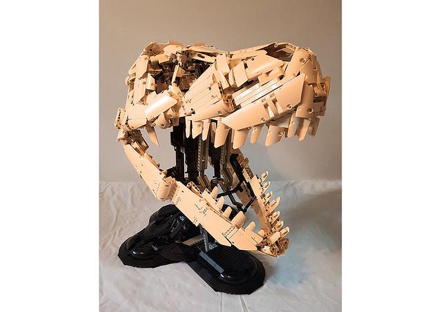 Tyrannosaurus Rex Skull LEGO T-Rex