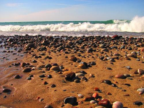 The beaches of Lake Superior. Photographer Joann Kraft