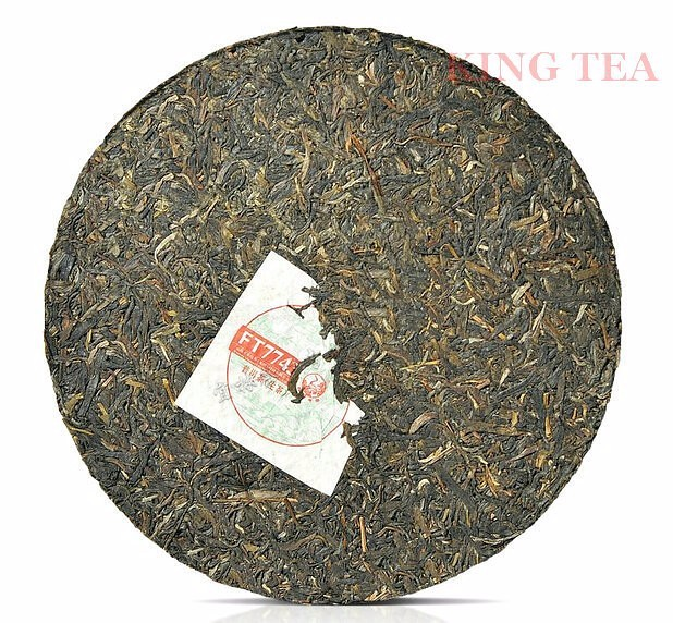 Free Shipping 2014 XiaGuan FT7743 Cake Beeng 357g China YunNan Chinese Puer Puerh Raw Tea Sheng Cha Weight Loss Slim Beauty