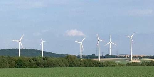 Wind power in Germany. It's all along the highways